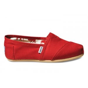 Red Canvas Womens Classics