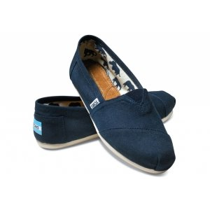Navy Canvas Womens Classics
