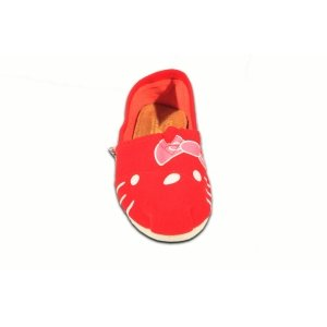 Red Multi Houndstooth Kids TOMS Classics