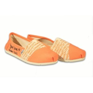 Orange Hashtag Womens Classics