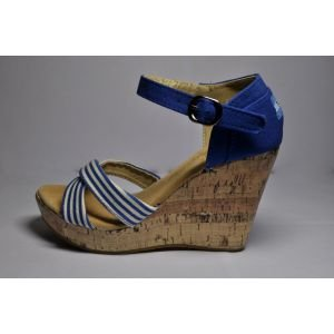 Navy Wedges Women's Clarissa